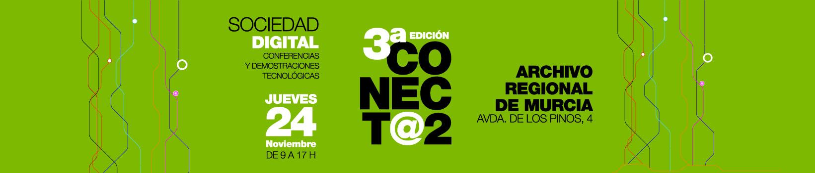 3ª Ed. CONECT@2 - Jueves 24 de noviembre de 2016